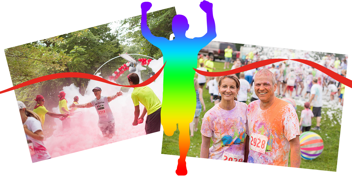5k color foam run - Children Color